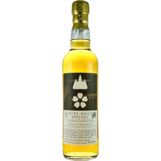 Yamazakura Sherry Wood Finish Cask Strength 15 Years 550ml