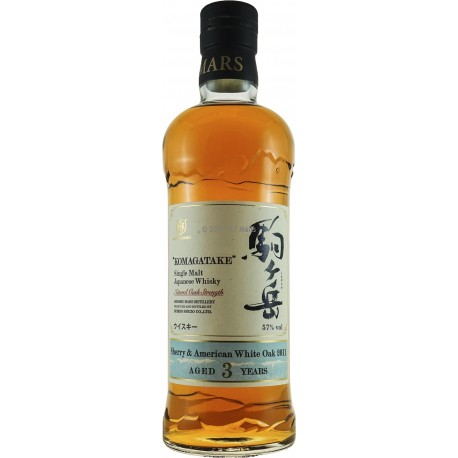 "Mars ""KOMAGATAKE"" 2011 Sherry & American White Oak 3 Years"