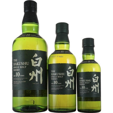 Hakushu Single Malt 10 Years - Trio